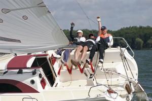 Piękny akwen, słońce, 4-6 Bfta! Puchar Czaplinka, jezioro Drawsko.